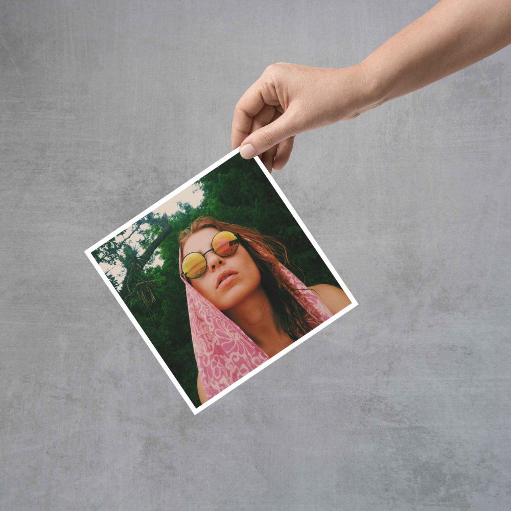 הדפסת תמונות ריבוע