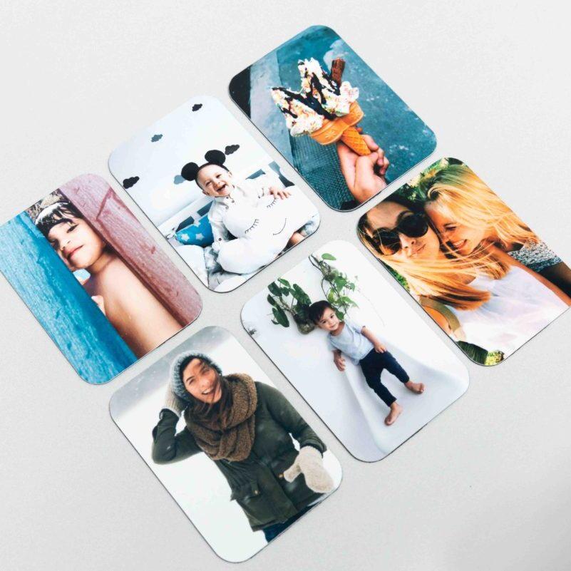 הדפסת תמונות על מגנט מלבני