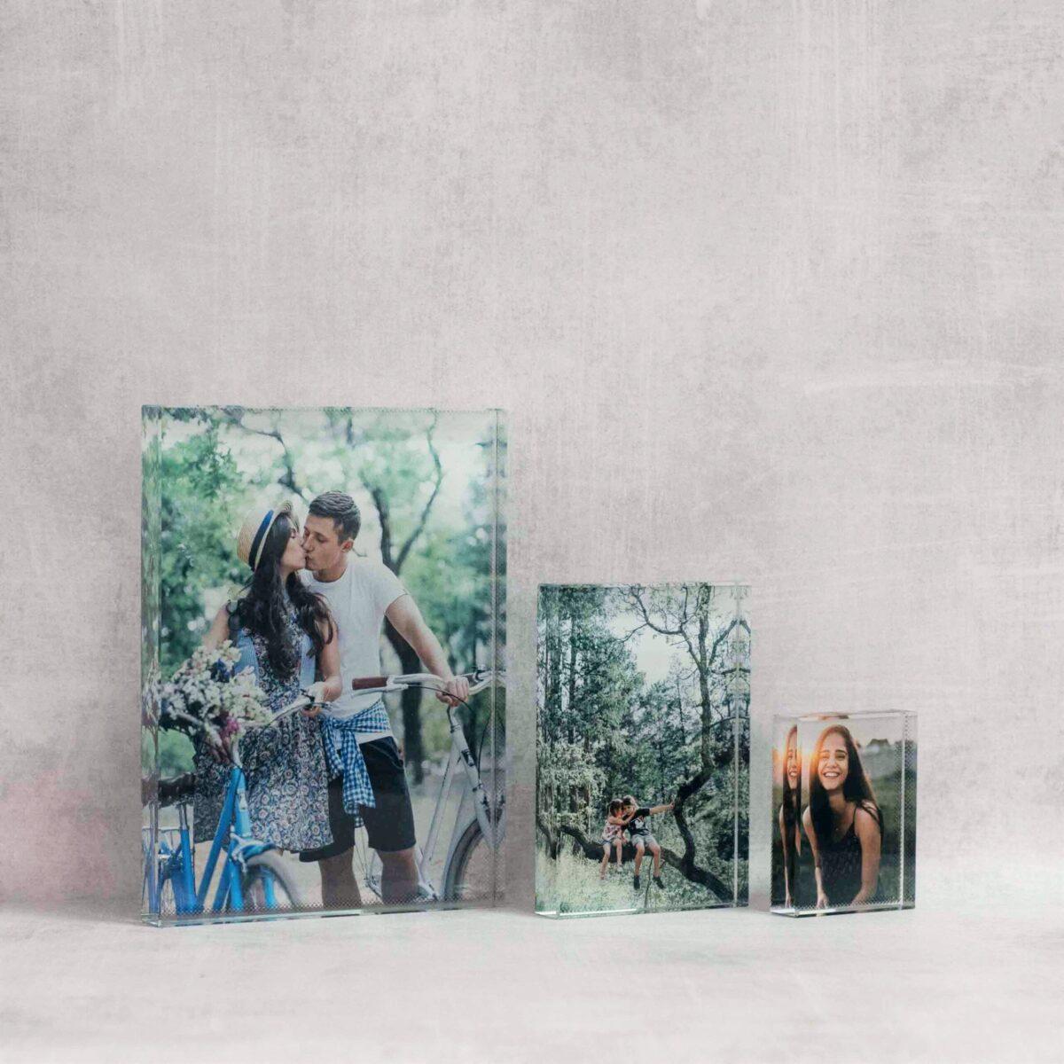 הדפסת תמונות על בלוק זכוכית